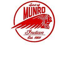 Spirit Of Munro bikers lifestyle Photographic Print