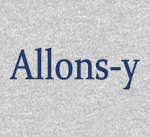 Allons-y by ZombieFiend