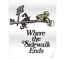 Soul Eater Where the sidewalk ends Poster