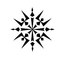 Mandala #222 || Mono by RedBookJournals