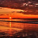 Red dragon Sunrise by Poete100