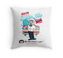 Mr. White's Blue Ice Throw Pillow
