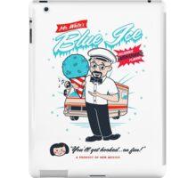 Mr. White's Blue Ice iPad Case/Skin