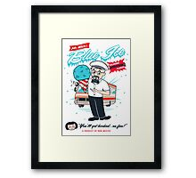 Mr. White's Blue Ice Framed Print
