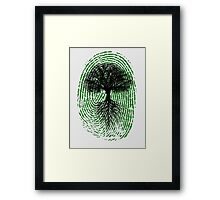 Green Thumb Framed Print