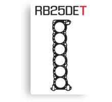 RB25DET Nissan Engine Head Gasket design for a light shirt Canvas Print