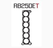 RB25DET Nissan Engine Head Gasket Sticker by ApexFibers