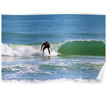 One Surfer Poster