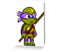Donatello Does Machines Greeting Card