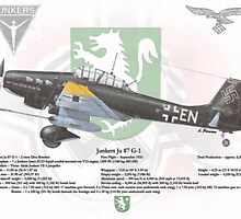 Junker Ju 87 G-1 by A. Hermann