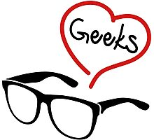 geeks Photographic Print