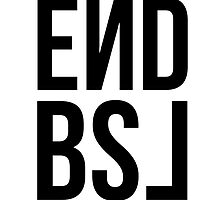 End BSL Text (Black and Red) by scruffyjate