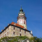 Český Krumlov Castle by Charles Kosina