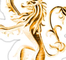 GOLD LION Sticker