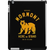 HOUSE MORMONT iPad Case/Skin
