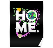 Home. Earth. Science. Poster
