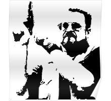 The Big Lebowski Walter Poster