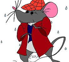 Sherlock Mouse by SpecsomeEmilie
