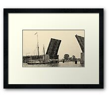 Roseway - Be Right Back Framed Print