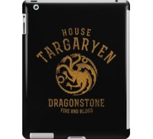 HOUSE TARGARYEN 1 iPad Case/Skin