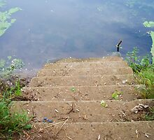 Stairs into a River by AnnArtshock