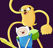 Adventure time by GreenMoney