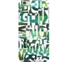 Geotypes iPhone Case/Skin