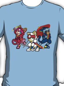 Samurai Pizza Cats T-Shirt