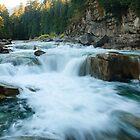 Eagle Falls, Skykomish River, Washington by DArthurBrown