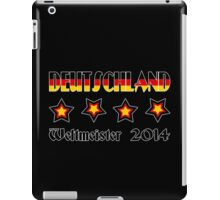 Germany - 2014 World Champion iPad Case/Skin