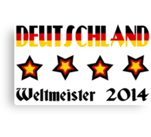 Germany - 2014 World Champion Canvas Print