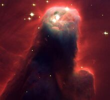 Space  The Cone Nebula by Old-Time-Images