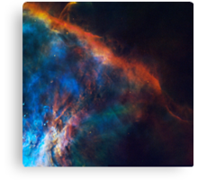 The Edge of Orion Nebula Canvas Print