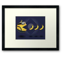 Pac·Minion Framed Print