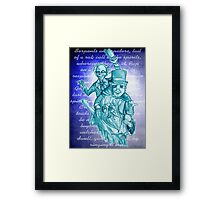 The Hitchhiking Ghosts! Framed Print