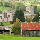 St Andrew's church, Dent by Stephen Knowles
