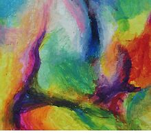 """""""A Destra"""" original abstract artwork by Laura Tozer by Laura Tozer"""