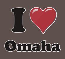 I Love Omaha Kids Clothes