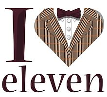 I Heart Eleven by Justin Butler