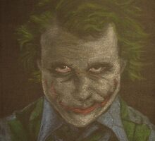 Original Heath Ledger as The Joker by Will Dudley