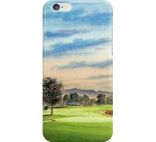 Pebble Beach Golf Course 18Th Hole iPhone Case/Skin
