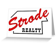 Strode Realty Greeting Card