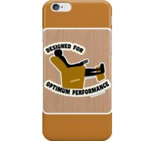 Optimum Performance iPhone Case/Skin