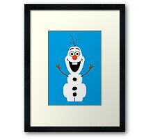 Olaf from Frozen Framed Print