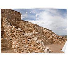 Tuzigoot Indian Ruins Poster