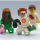 Greenpeace Shell & Lego  by minifignick