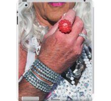 Brighton Pride - Kiss My Ring iPad Case/Skin