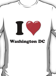 I Love Washington DC T-Shirt