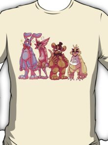 The Fazbear friends! T-Shirt