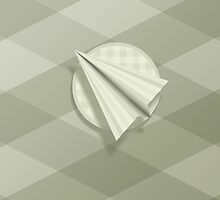 Paper Airplane 65 by YoPedro